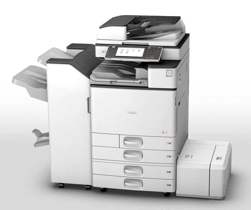 Máy Photocopy Ricoh Aficio MP 7002 Bãi