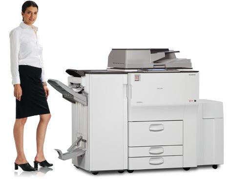 Máy Photocopy Ricoh Aficio MP  6002 Bãi